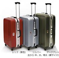 TSAロック付き サムソナイトBOXO(中)